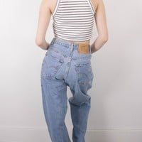 Vintage (LARGE) Levis 560 High Waisted Denim Jeans