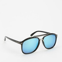 Plastic People Mirrored Aviator Sunglasses - Urban Outfitters
