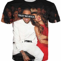 Trust No Bitch Chris Brown T-Shirt