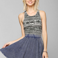 Truly Madly Deeply Cinched-Racerback Tank Top - Urban Outfitters
