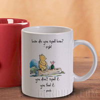 Disney Winnie The Pooh Quotes 6 Mug And Cup / Custom Mug / Custom Cup