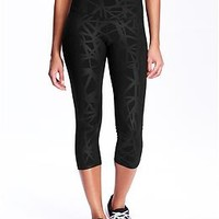 Women's Old Navy Active High-Rise Compression Capris