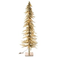 4' Champagne Accent Tree with Lights | Shop Hobby Lobby