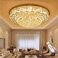 Modern Luxurious Crystal Chandelier LED Ceiling Lamp