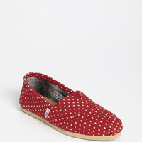 TOMS 'Classic - Dot' Woolen Slip-On (Women) | Nordstrom