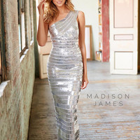 Madison James 15-138 Sequin Bandage Prom Dress