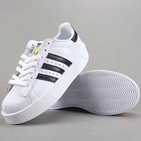 Trendsetter Adidas Superstar Bold W  Women Men Fashion Casual  Old Skool Low-Top  Shoes