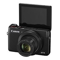 Canon G7 X CR 20.2 MP PowerShot CMOS Digital Camera with optical Zoom (24mm-100mm) 3 Inch Touchscreen 1080P Video, Certified Refurbished, Black