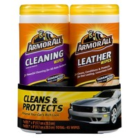 Armor All Cleaning and Leather Wipes Pack 2-pk.