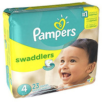 Pampers Swaddlers Diapers - Size 4 - 23 ct