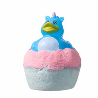 Bath Bombs - Rubber Duck Bath Bomb by Sassy Bubbles -- Raspberry Boom Scent