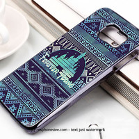 Forever Young Disney Aztec Pattern Samsung Galaxy S6 and S6 Edge Case