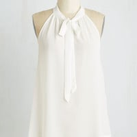 Americana Mid-length Your Best Effortlessness Top in Ivory