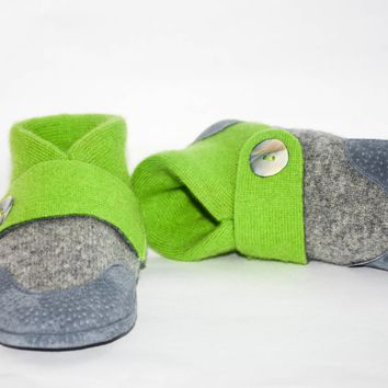 Kids Cashmere Slippers, Kids Winter Shoes