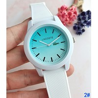 LACOSTE Popular Boys Girls Simple Movement Quartz Watches Wrist Watch 2#