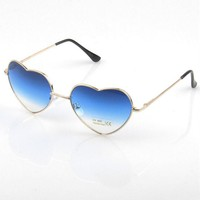 Exquisite heart sunglasses