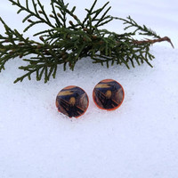 Edvard Munch - The Scream, The Scream stud earrings