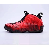 Nike Air Foamposite One DB Fashion Women Men Casual Sport Basketball Shoes Sneakers Red
