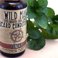 Beard Conditioner Softener TUNDRA Wild Man Beard Oil 30ml