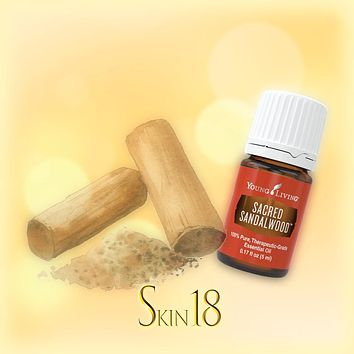 Sacred Sandalwood Essential Oil Single