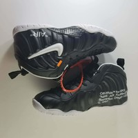 Off White x Air Foamposite One Basketball Shoe Size 41--45