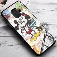 Classic Mouse Couple Happy Kissing Disney iPhone X 8 7 Plus 6s Cases Samsung Galaxy S9 S8 Plus S7 edge NOTE 8 Covers #SamsungS9 #iphoneX