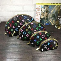 LV Louis Vuitton Cosmetic Bags For Accessories Travel Storage Cosmetic Bag Four Piece Suit Tagre™
