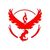 Pokemon Go Team Valor Die Cut Vinyl Decal Sticker