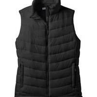 Port Authority Ladies Mission Puffy Vest, Marshmallow, 2XL