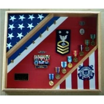 Flag Connections Flag Display Case