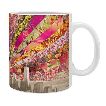 Bianca Green Blooming NY Coffee Mug