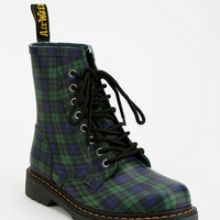 Urban Outfitters - Dr. Martens Drench Plaid Heeled 8-Eye Rain Boot