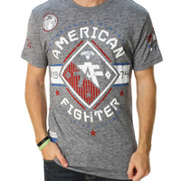 American Fighter Men's Massachusetts Graphic T-Shirt