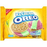 Nabisco Ice Cream Oreo Rainbow Shure, Bert! Sandwich Cookies, 15.25 oz - Walmart.com