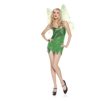 Be Wicked Womens Sweet Lil Wood Sprite Halloween Party Fairy Costume