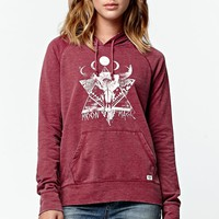 Billabong Move Over Pullover Hoodie - Womens Hoodie - Cherry