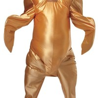 Rasta Imposta Gobbler The Turkey, Gold, One Size