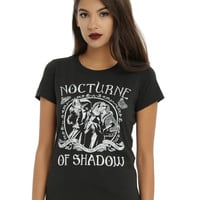 The Legend Of Zelda: Ocarina Of Time Nocturne Of Shadow Girls T-Shirt