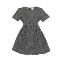 vintage 90's grunge DARK CLUSTERS bow dress by clevernettle