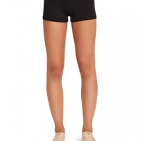 Capezio Boy Cut Low Rise Short | Dance Bottoms | Capezio | Capezio