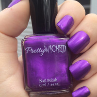 Metallic Royal Purple Nail Polish
