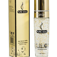 ISO Beauty - Pure Gold - Hair Serum with 24k Gold Flakes 80ml
