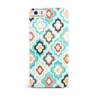 Dotted Moroccan pattern iPhone 5/5S/SE INK-Fuzed Case