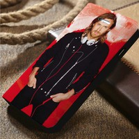 David guetta Custom Wallet iPhone 4/4s 5 5s 5c 6 6plus 7 and Samsung Galaxy s3 s4 s5 s6 s7 case