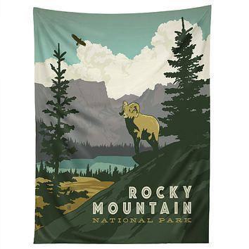Anderson Design Group Rocky Mountain National Park Tapestry