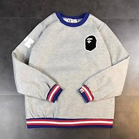 AAPE Fashion Round Neck Top Sweater Pullover