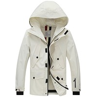 Boys & Men Moncler Casual Edgy Hooded Cardigan Jacket Coat