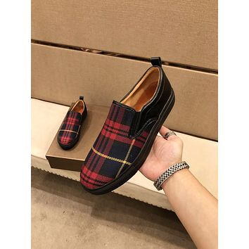 Burberry2021Men Fashion Boots fashionable Casual leather Breathable Sneakers Running Shoes09040cx
