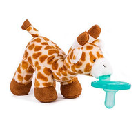 Tinabless Giraffe Pacifier Holder Perfect Baby Shower Gift for Newborn Boys and Girls