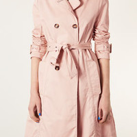 Unlined Seamed Trench Coat - Trenches - Jackets & Coats  - Clothing
